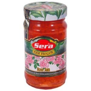 Sera Džem  z lupeňov  ruží  385 g