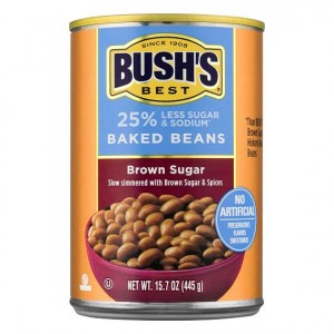 Bush's Baked Fazulky Brown Sugar Hickory 454g