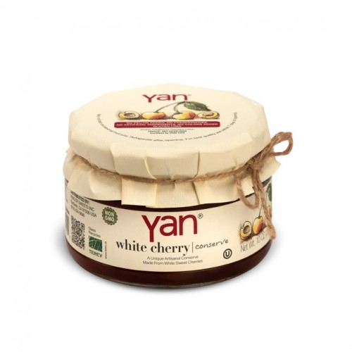 Yan Biela čerešna v sladkom náleve 300g