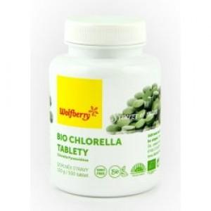 Wolfberry Chlorella bio 500 tbl