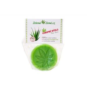 Zelená země Konopné mydlo 80g