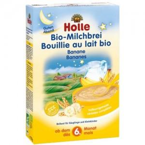 Holle bio mliečna kaša banán 250g