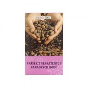 Bionebio Prášok z nepraženého kakaa 150g