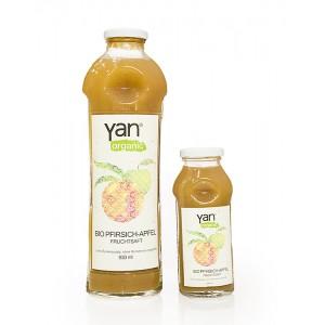 Yan Šťava broskyňa jablko 100% bez cukru BIO 250ml