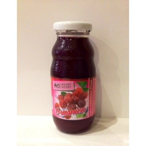 Wellberry Brusnicová šťava 100% 200 ml