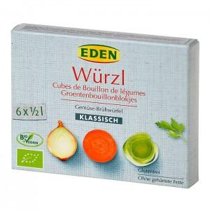 Wurzl Bujón zeleninový-kocky 66g BIO EDEN