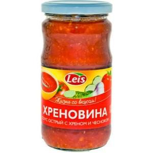 Leis Chrenovina  paradajkovo chrenová omáčka  370g