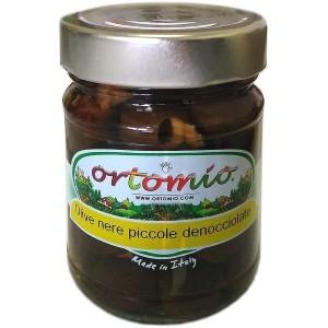 Čierne olivy bez kôstky v slanom náleve 212 ml