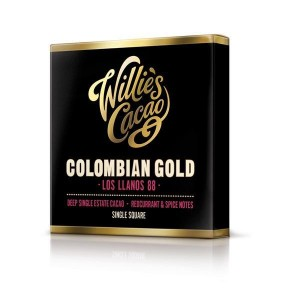 Willie´s Čokoláda Colombian Gold horká 88% 50 g