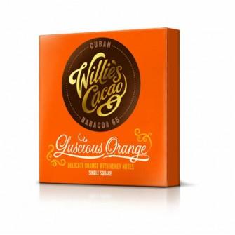 Willie´s Čokoláda Cuban horká s pomarančom 65%, 50 g