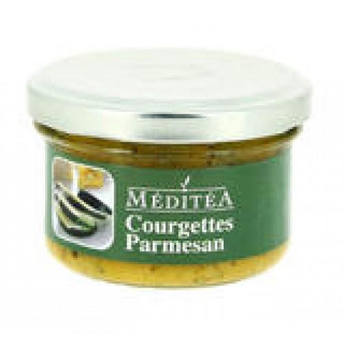 Méditéa Pochúťka z cukiet s parmezánom, sklo, 90 g