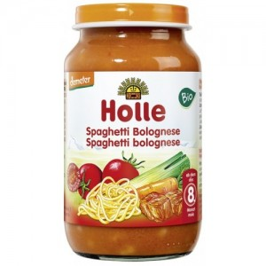 Holle Detská výživa špagety boloňské bio 220g