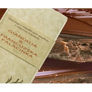 DP Chocolate Gianduja s francúzskou palacinkou, 100g