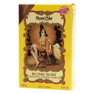 Henné Color Paris Blond zlatá 100 g
