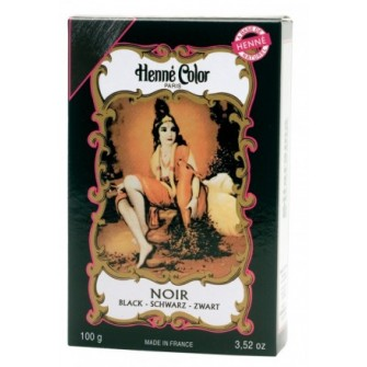 Henné Color Paris Noir Henna Powder Čierna 100 g