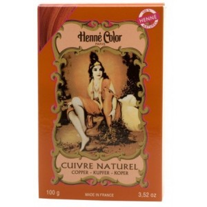 Henné Color Henné Color - MEDENÁ - Cuivre Naturel 100g