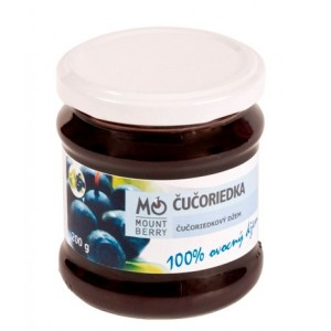 Wellberry Čučoriedkový džem 200 g