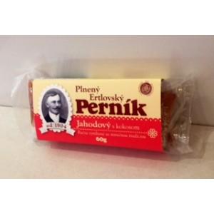 Erbia Perník Jahodový s kokosom 60g