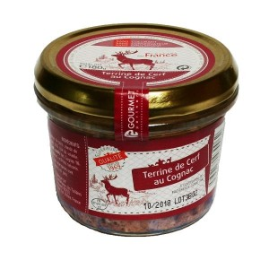 Cuisiné en France Jelenia terina s koňakom 180 g