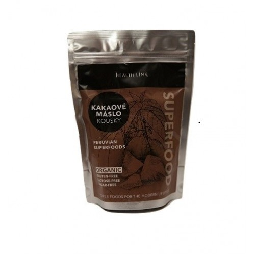 Health Link Kakaové maslo BIO RAW 250g