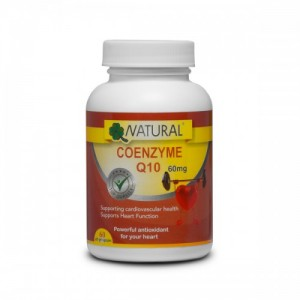 Natural Koenzým Q10 60 mg - 60 kapsúl