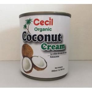 Cecil Kokosová smotana bio 200ml