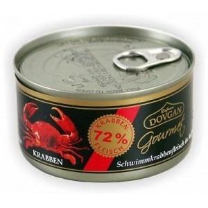 Dovgan krabove  filety naturalne 170g