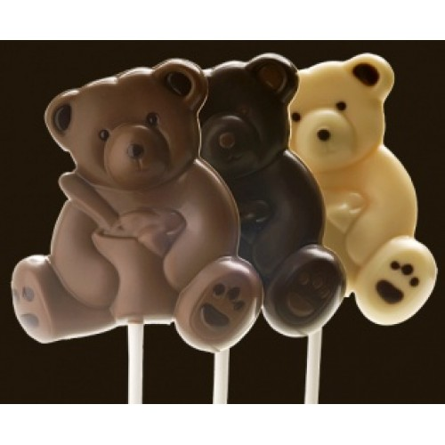 DP Chocolate Lízanka (biela, mliečna, alebo horká čokoláda) 20g