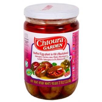 Chtoura Makdous (nakládaný baklažán s orechami v oliv.oleji) 0,6kg