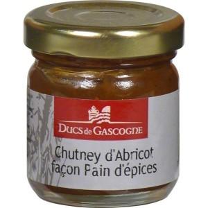 Ducs de Gascogne Chutney marhuľa perníkové korenie 40 g