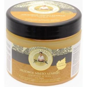 Medové mydlo na vlasy a telo 300 ml