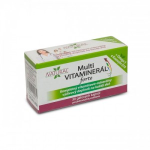 Natural Multi Vitaminerál forte 30 kapsúl