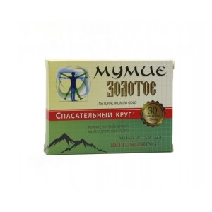 Mumio čisté Kirgizské 60 tbl