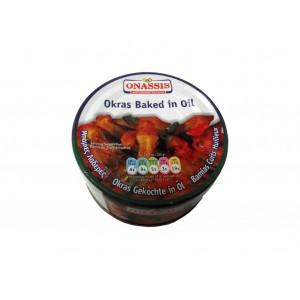 Onassis Pečené okra v oleji a paradajke 280 g