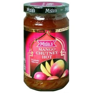 MIDA Jemné mango chutney 340g