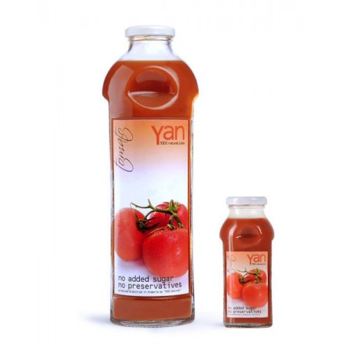 Yan Šťava paradajková 100% bio bez cukru 250ml