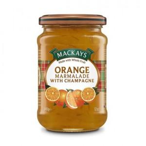 Mackays pomarančový džem so šampanským 340g