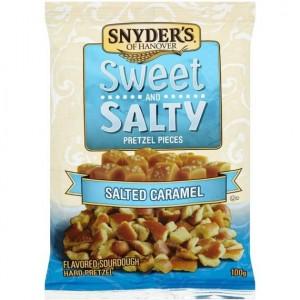 Snyder's praclíky so slaným karamelom 100g