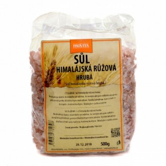 Provita Himalájska soľ – ružová hrubozrnná 0,5kg