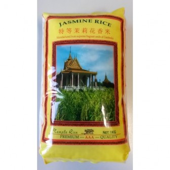 Temple rice Ryža jasmínová 1kg