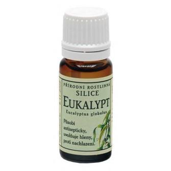 Grešík Rastlinná silica Eukalyptus 10ml