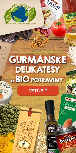 Gurmánske delikatesy z rôznych krajín