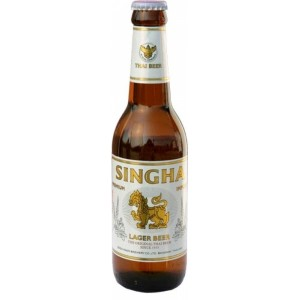 Singha Beer Thajské pivo 330ml