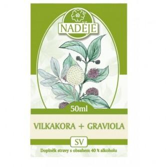 Nadeje graviola + Vilcacora SV10 50ml