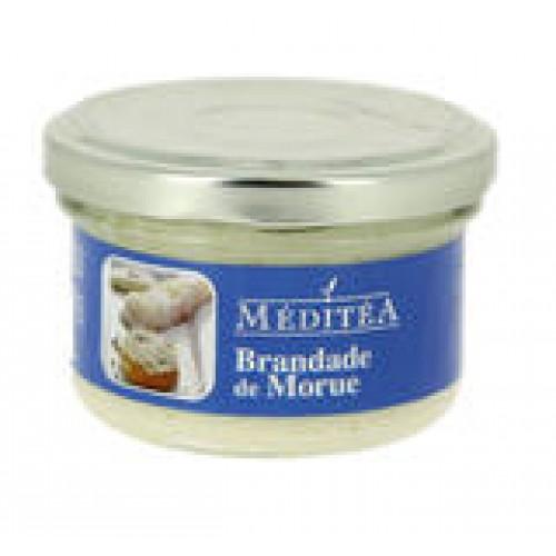 Méditéa Tresčia pochúťka s kozím syrom, sklo, 90g