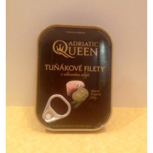 Adriatic Queen Tuniakové filety v olivovom oleji 105g