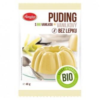 Amylon Puding  bez lepku vanilkový Bio 40g